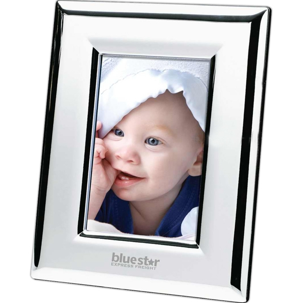 "Silver Plated 4"" X 6"" Photo Frame Photo"