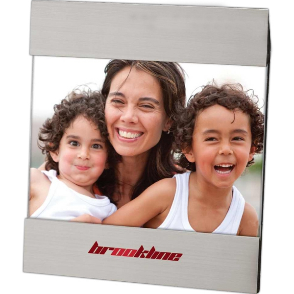 "Horizontal Border 7"" X 5"" Photo Frame With Aluminum Finish Photo"