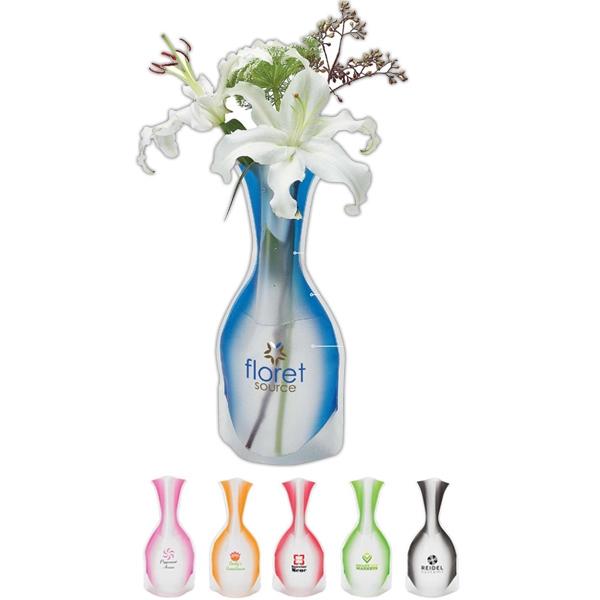 Frosty vase