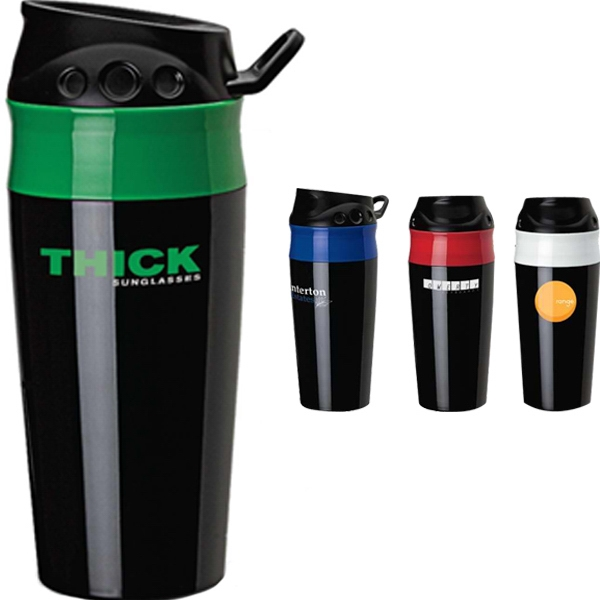 Grab 'n Go - 16 Oz Double Wall Plastic Tumbler Photo
