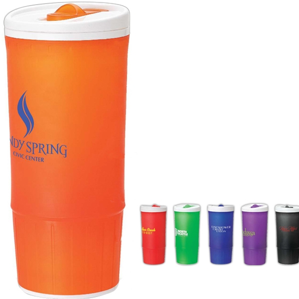 Jumbo Size Microwavable Double Wall Pp Tumbler, 20 Oz Photo