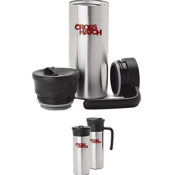 Two-in-one Vacuum Mug With Handle Or Flask Photo
