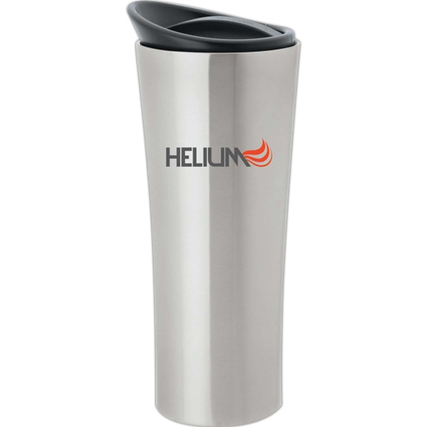 16 Oz Stainless Steel Tumbler With Non Slip Rubber Base Photo