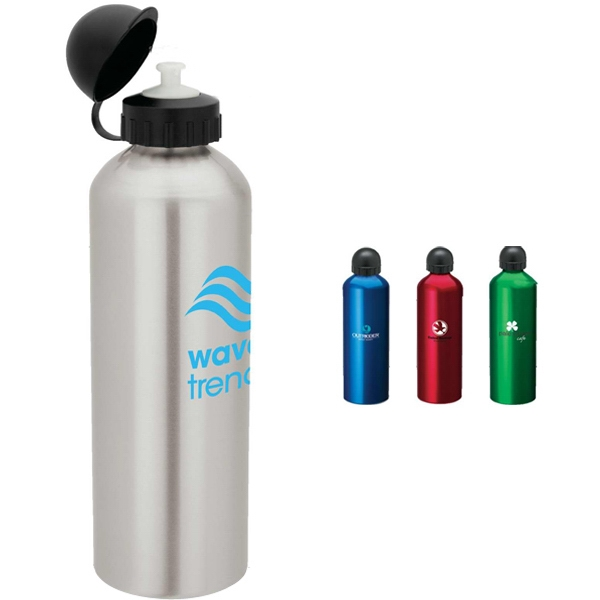 Aluminum Sport Flask With Dome Sports Top Photo
