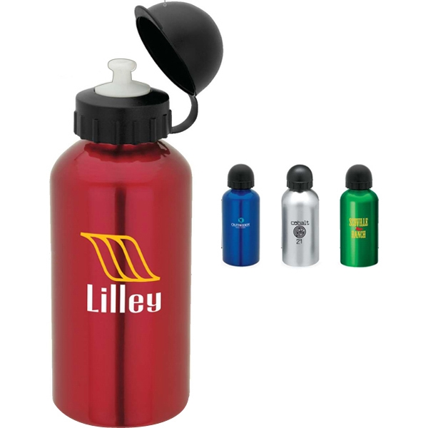 Aluminum Sport Flask With Dome Sports Top, 500 Ml Photo