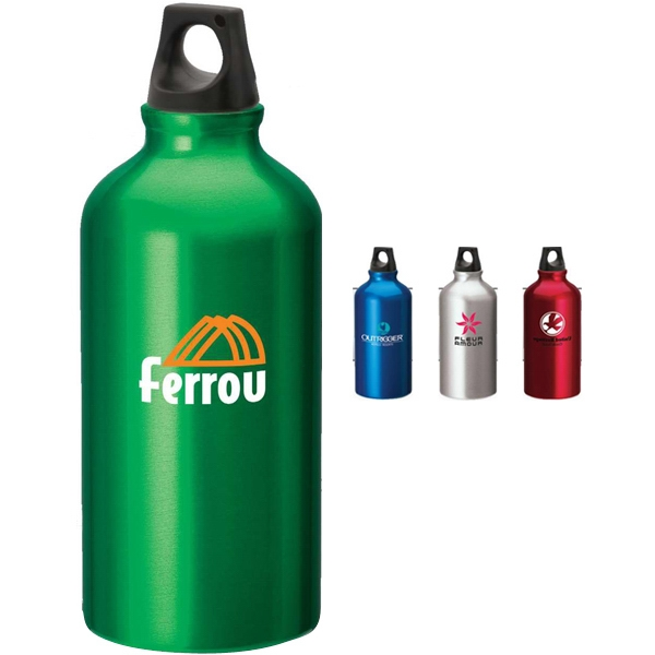 Aluminum Sport Flask With Twist Top Photo