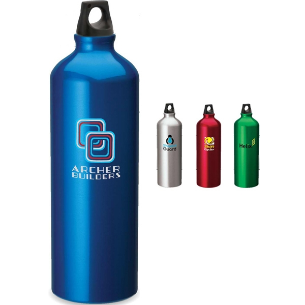 One Liter Aluminum Sport Flask With Twist Top Photo