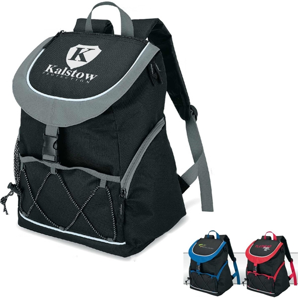 Peva Lined Backpack Cooler With Carry Handle Photo