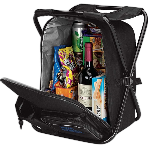 Picnic Chair Backpack Cooler Photo