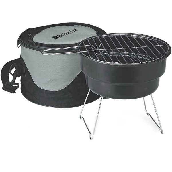 Pvc Cooler With Portable Bbq Photo