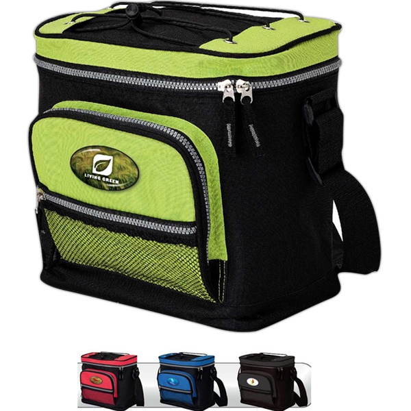 12-can Cooler With Zippered Main Compartment Photo