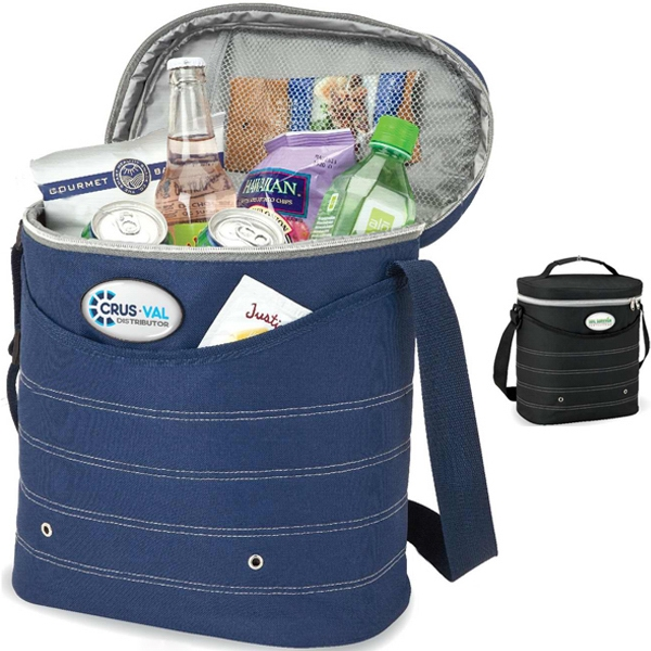 Oval Cooler Bag With Shoulder Strap Photo