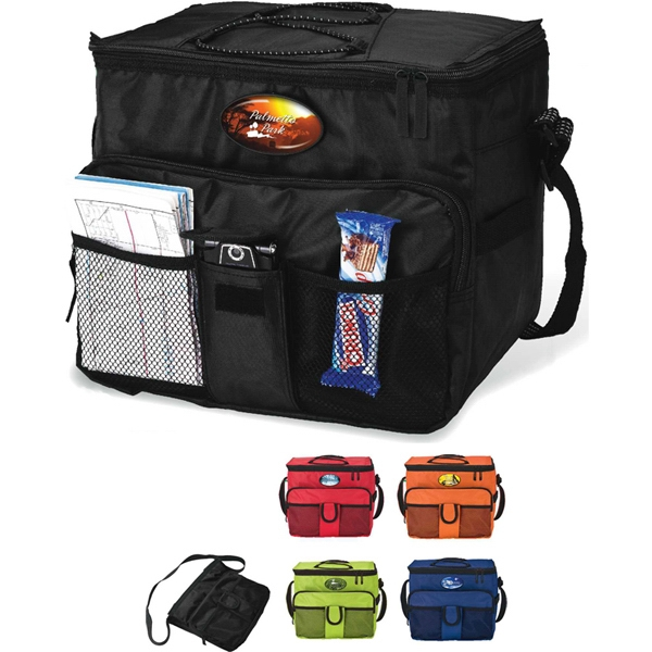 Collapsible 18-can Cooler Bag With Heat Sealed Peva Lining Photo