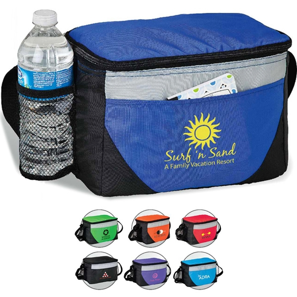 Zippered Cooler Bag With Peva Lining Photo