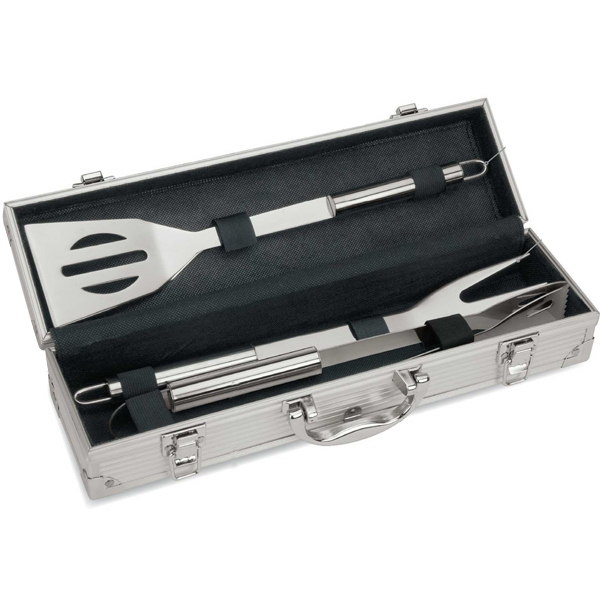 Three Piece Mini Executive Barbecue Set Photo