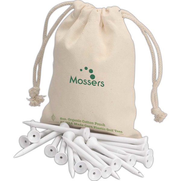 Eco-lifestyle (tm) - Eco Golf Tees In Drawstring Bag Photo