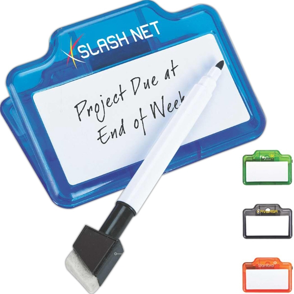 Dry-erase And Memo Clip With Marker Photo