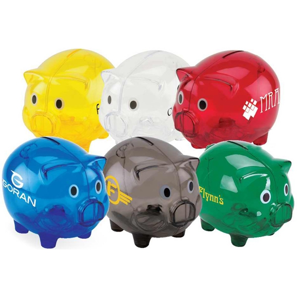 Large Piggy Bank Photo