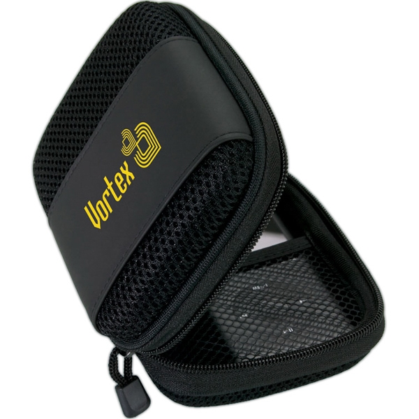 Mp3 Stereo Speaker Bag With Zip Vinyl Case Photo
