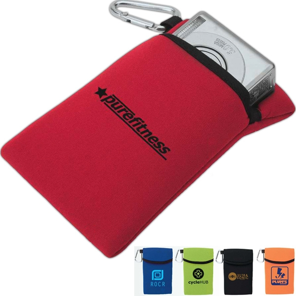 Soft Foam Accessory Case With Carabiner Photo
