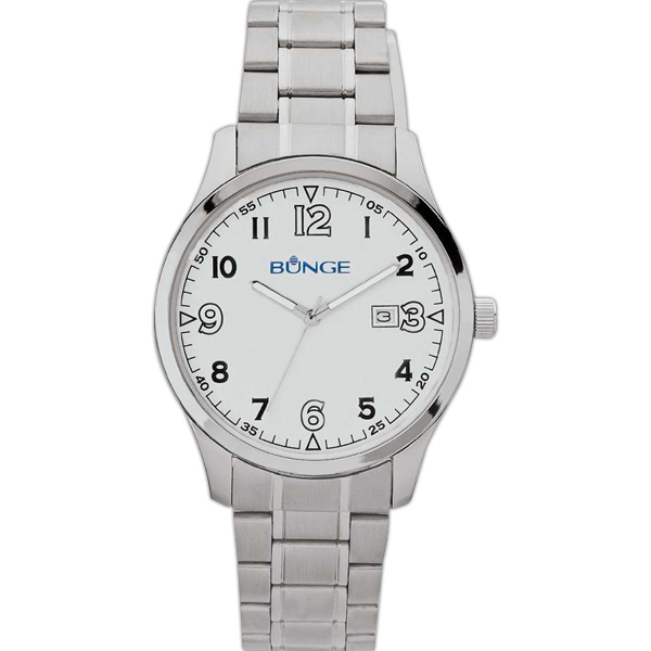 Men's Watch - Silver Tone Finish Watch Photo