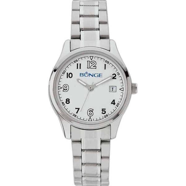 Ladies Watch - Silver Tone Finish Watch Photo