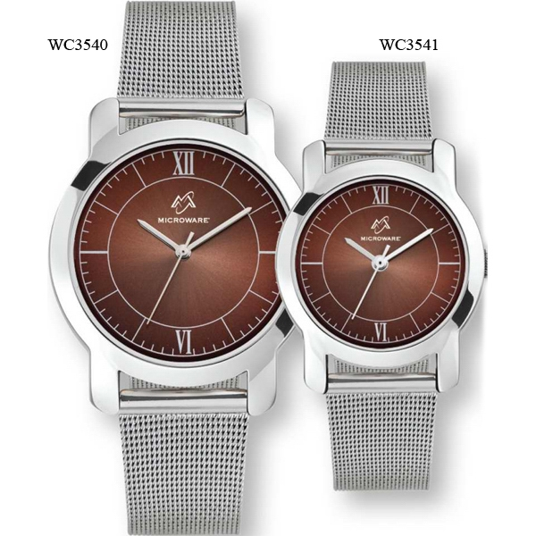 Ladies' - Watch With Mesh Grain Steel Bracelet And Sunray Dial Photo