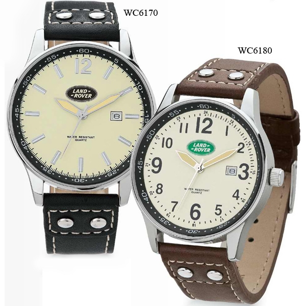 Unisex Retro Style Watch With Italian Leather Strap Photo