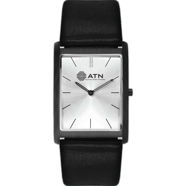 White - Watch With A Sleek And Slim Compact Design Photo