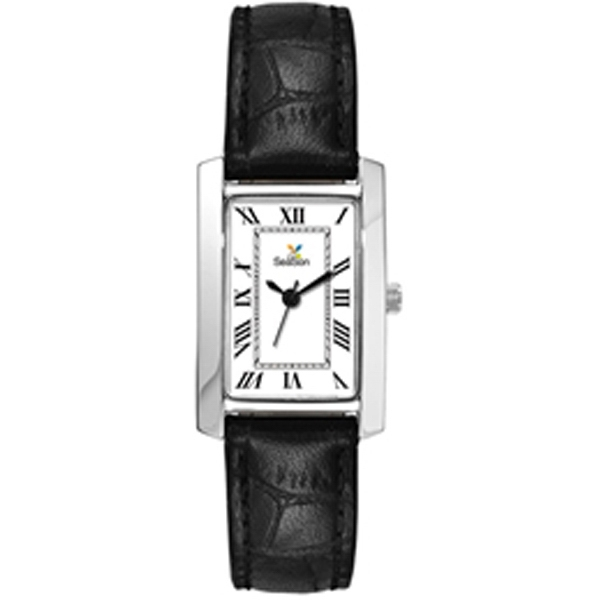 Ladies' - Polished And Brushed Silver Finish Watch Photo