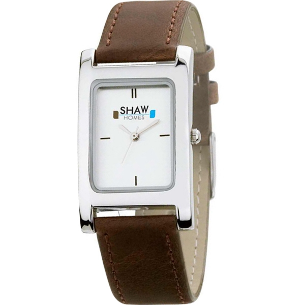 Men's - Water Resistant Watch With Leatherette Straps, Metal Case Photo