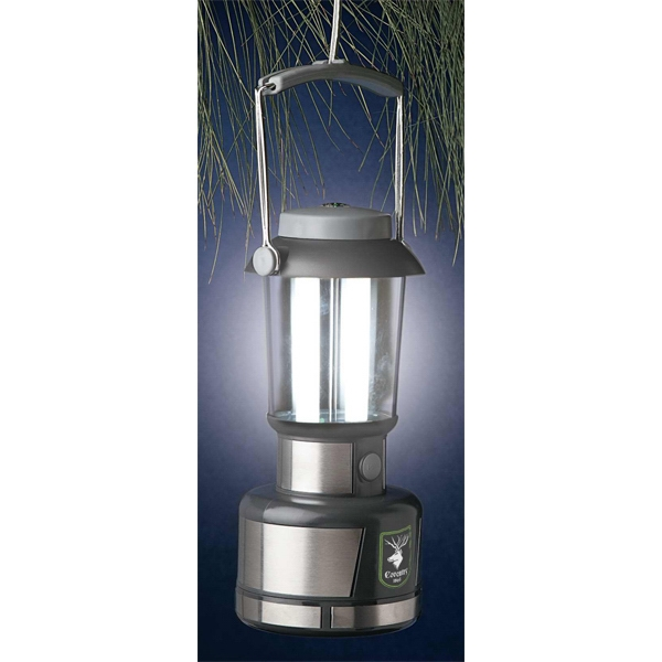 Eco-lifestyle (tm) - Camping/safety Rechargeable Lantern With Dual Fluorescent Bulbs Photo