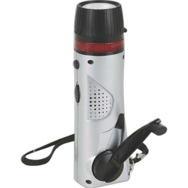 Eco-lifestyle - Mini Survival Flashlight/radio Photo