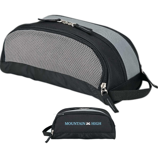 Toiletry Kit Bag With Breathable Mesh Pocket Photo