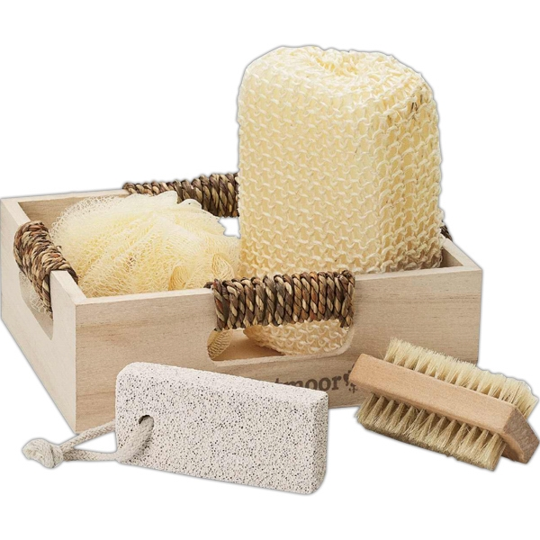 4 Piece Spa Set In Box Photo