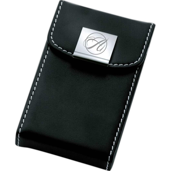 Black Finish Business Card Case Photo
