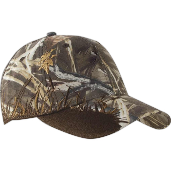 Authentic Wildlife Series (tm) - Mallard Advantage Ma X -4 Hd (r) - Camouflage Cap With Highly Detailed Embroidered Wildlife Scene Photo