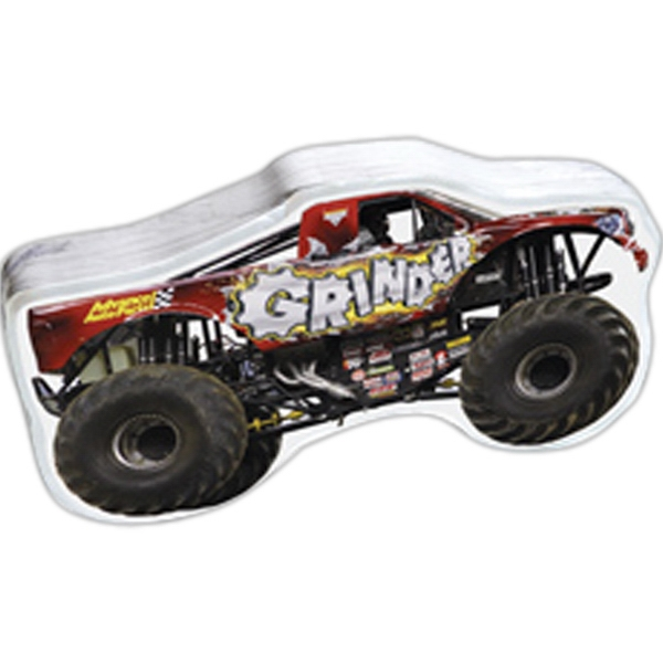 Smasht (tm) - Monster Truck Shape Compressed T-shirt Photo