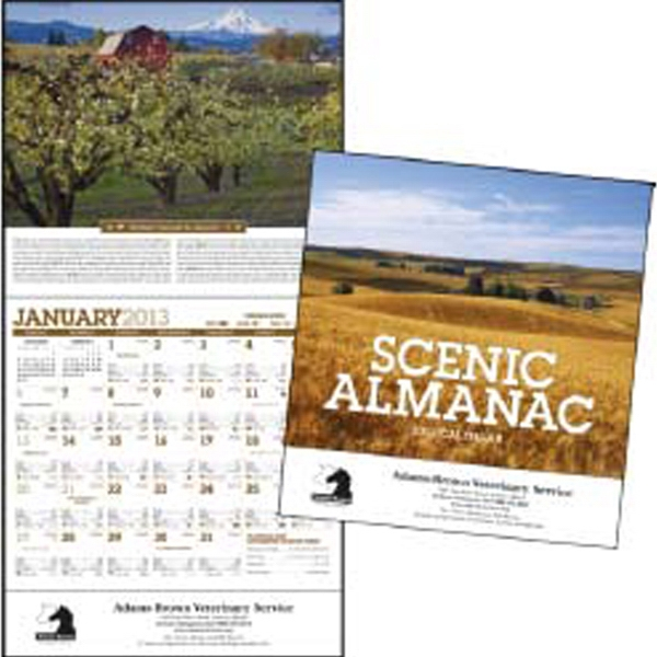 Scenic Almanac - 2013 Weather Watcher's Calendar Photo