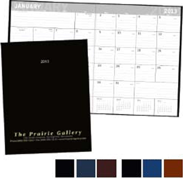 Slim And Lightweight 2013 Planner. Lined Dated Blocks With Ample Space For Notes Photo