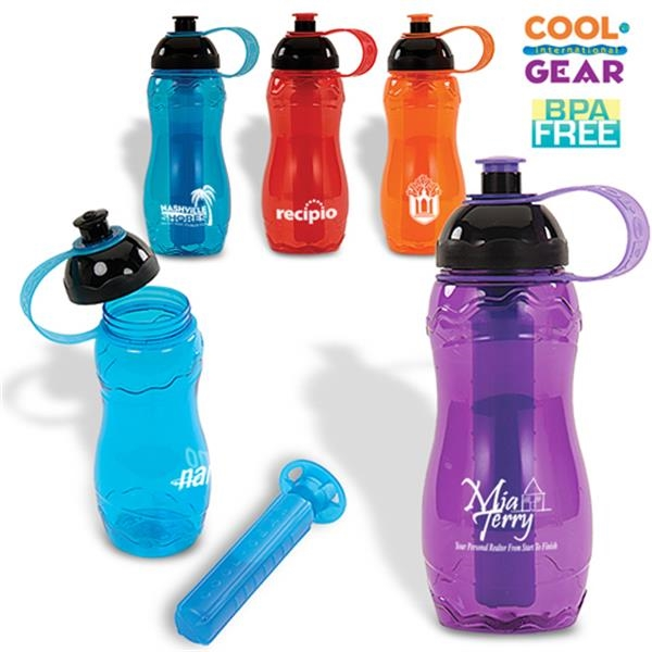 Cool Gear (tm) Small Chill - Polycarbonate Bpa Free 22 Oz. Sports Bottle Photo