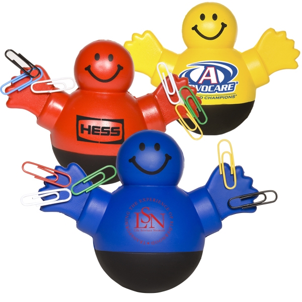 Belly Wobbler - Soft Polyurethane Stress Reliever With Weighted Base. Closeout Photo