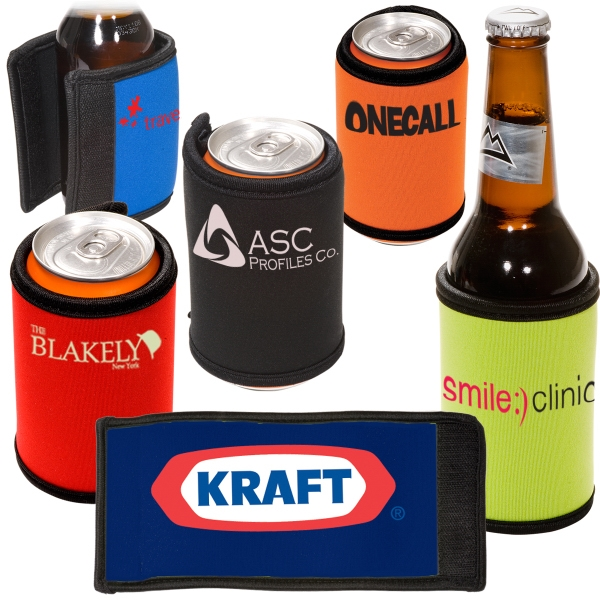 Reversible Neoprene Beverage Wrap Photo
