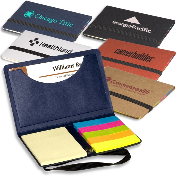 Eco-responsible (tm) Sticky Book (tm) - Business Card Sticky Note Pack Photo