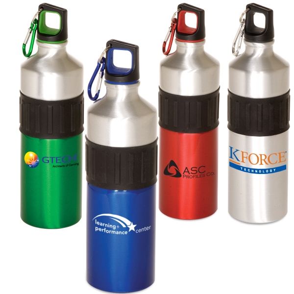 Power Grip - 25 Oz. Aluminum Water Bottle. Closeout Photo