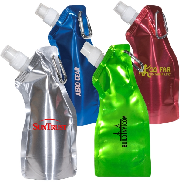 Flexi-bottle - Curvy Flexible Bottle Made From Ultra Lightweight Bpa Free Plastic, 13.5 Oz Photo