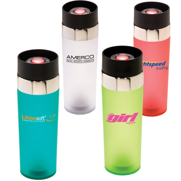 Venti - 16 Oz. San Acrylic Tumbler With Silicone Coating, Bpa Free Photo