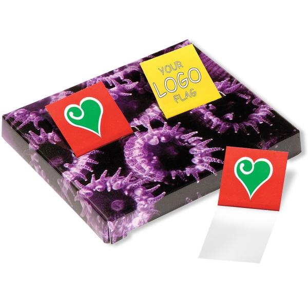 Custom Double Sticky Flag Box