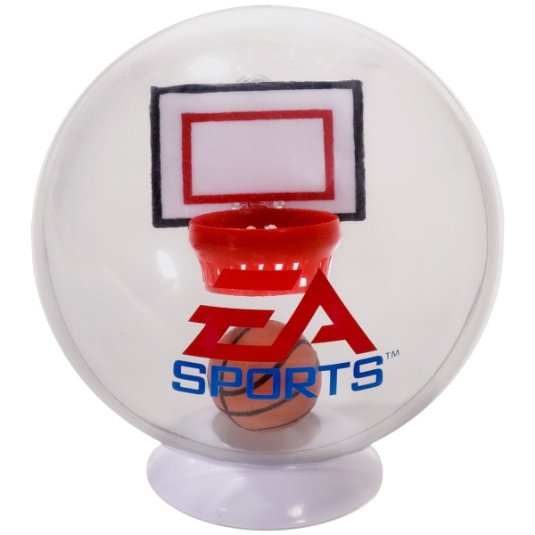 Desktop Basketball Globe Game, Includes Desk Stand Photo