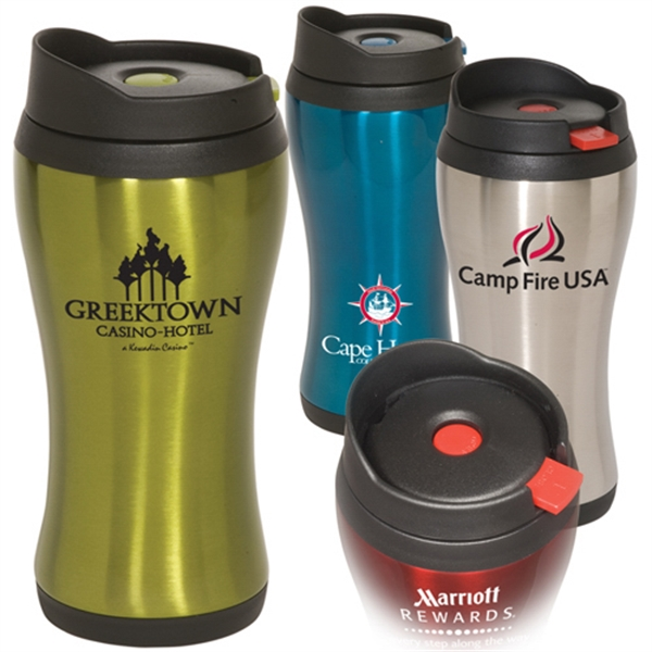 Click 'n Sip - Stainless Steel Shell With Polypropylene Inner Liner Tumbler Photo
